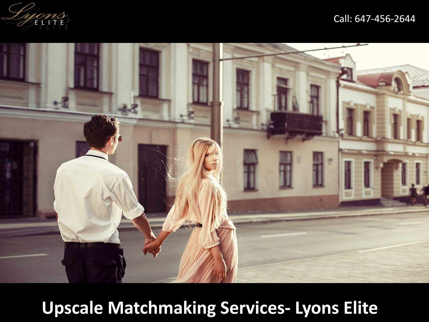 casually come Select singles dating service can recommend