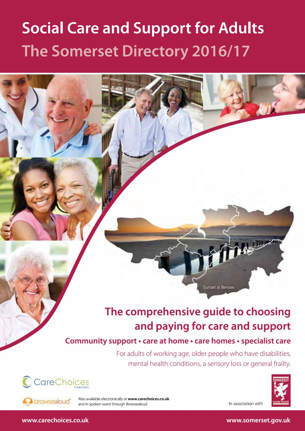 Social Care And Support For Adults