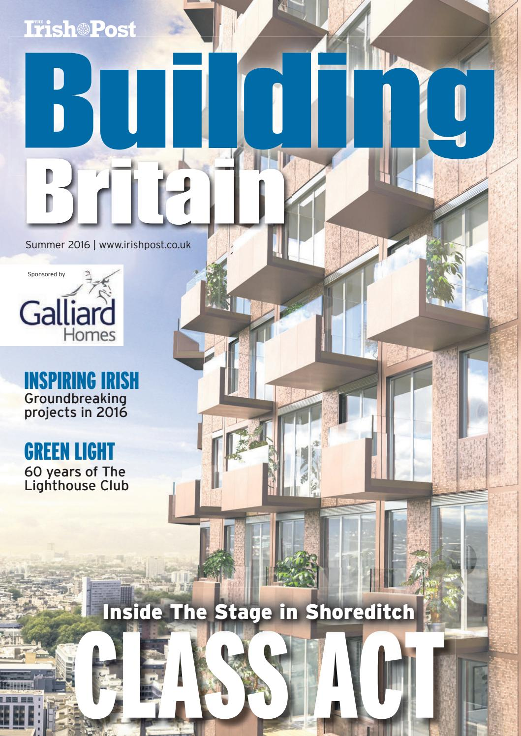 Building Britain 2016 By The Irish Post