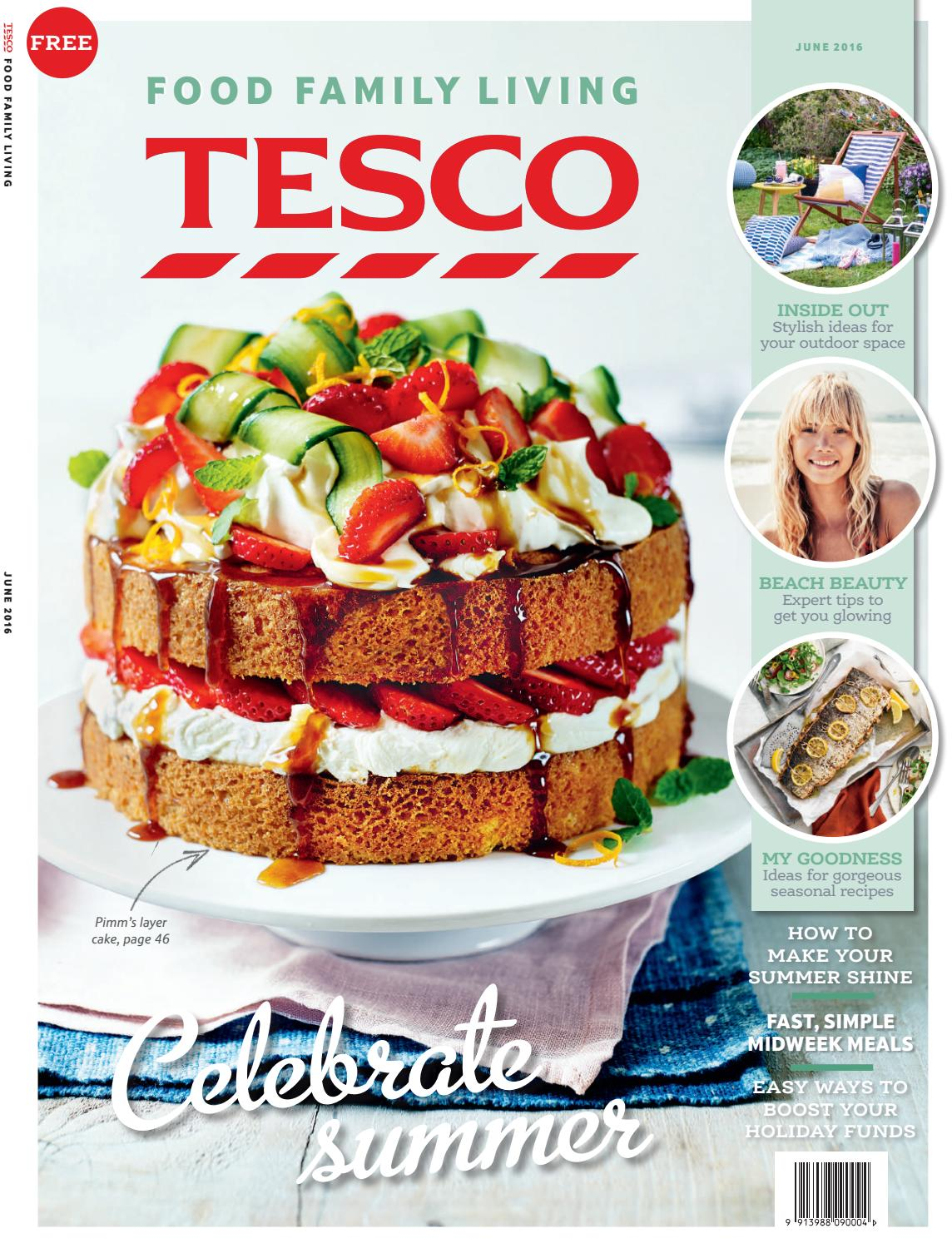 Tesco Magazine June 2016 By Tesco Magazine Issuu