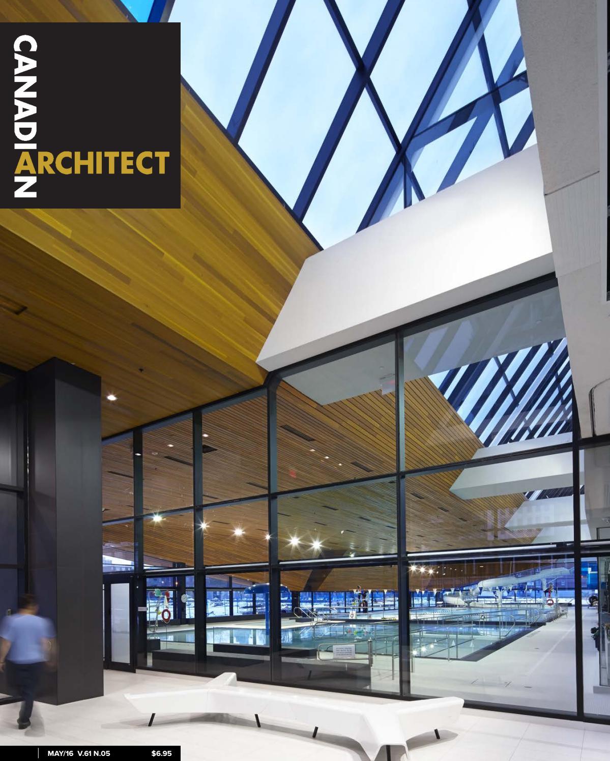 Construction Hangar Bois Prix canadian architect may 2016iq business media - issuu