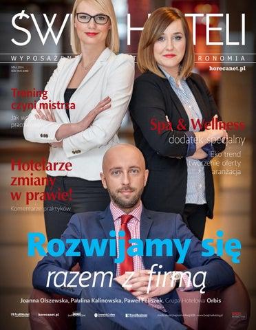 0245764854a5a ŚWIAT HOTELI kwiecień-maj 2016 by BROG B2B - issuu