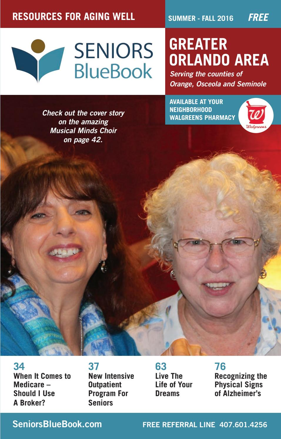greater orlando area summer fall 2016 by seniors blue book issuu