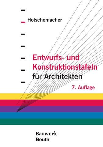 Entwurfs- und Konstruktionstafeln für Architekten by DETAIL - issuu