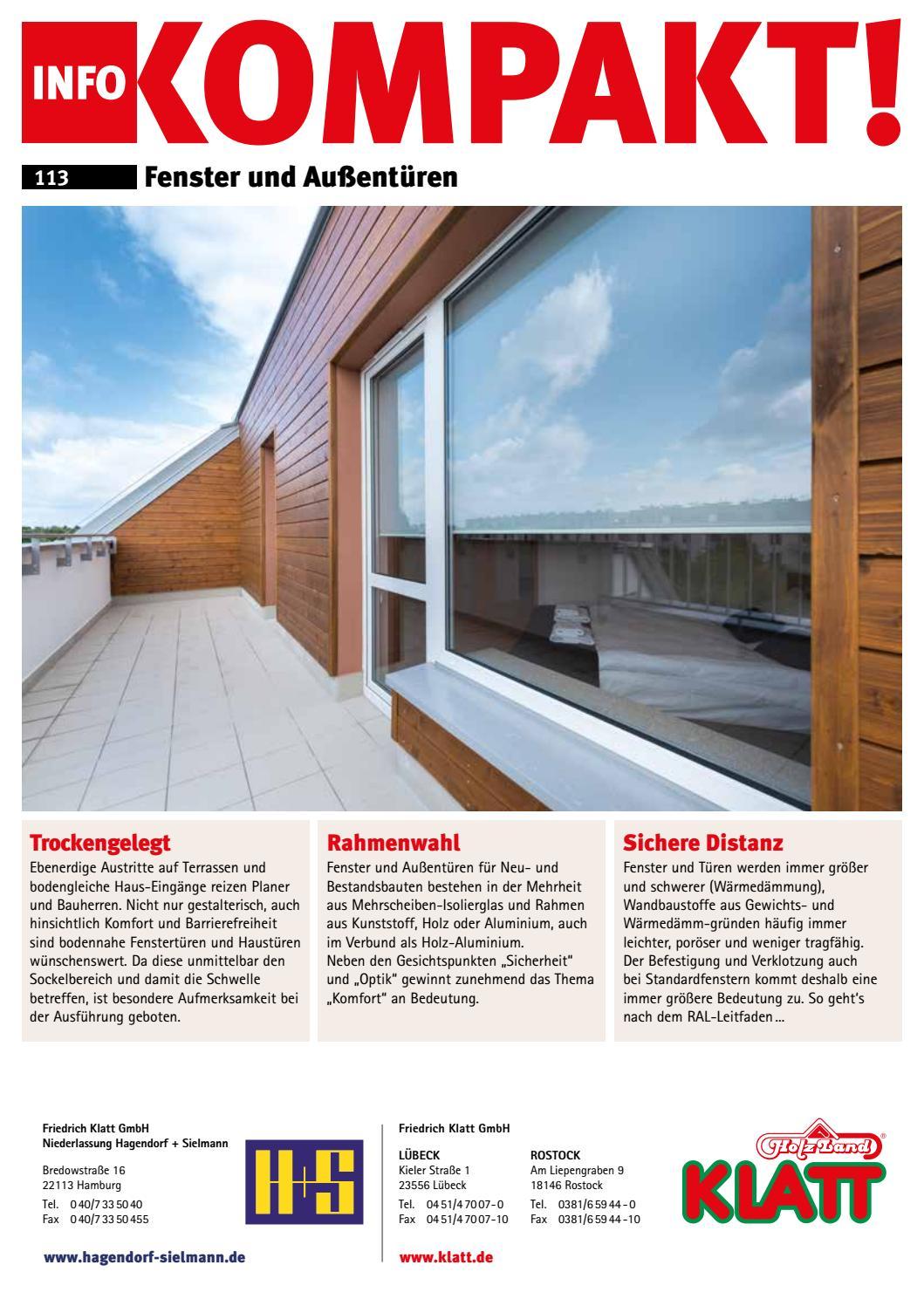 113 Ik Fenstertueren Klatt By Kaiser Design