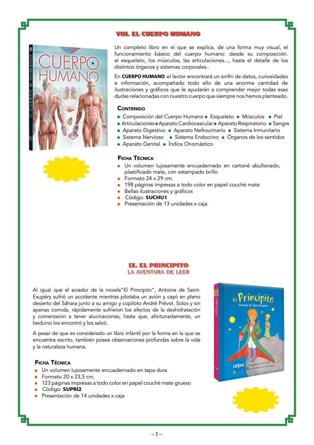 El cuerpo humano,El Principito by Olga Stahl Arizola - issuu