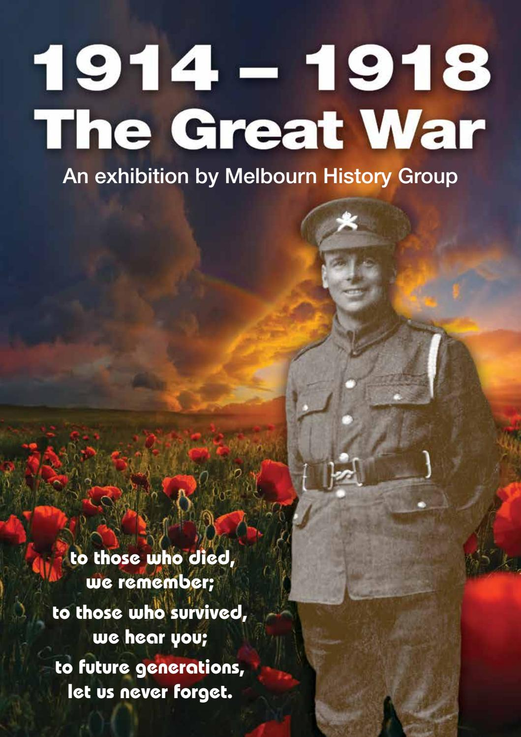 98924ab21 The Great War by Melbourn Magazine - issuu