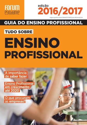 Guia do Ensino Profissional 2016 by Forum Estudante - issuu b1a51e2770