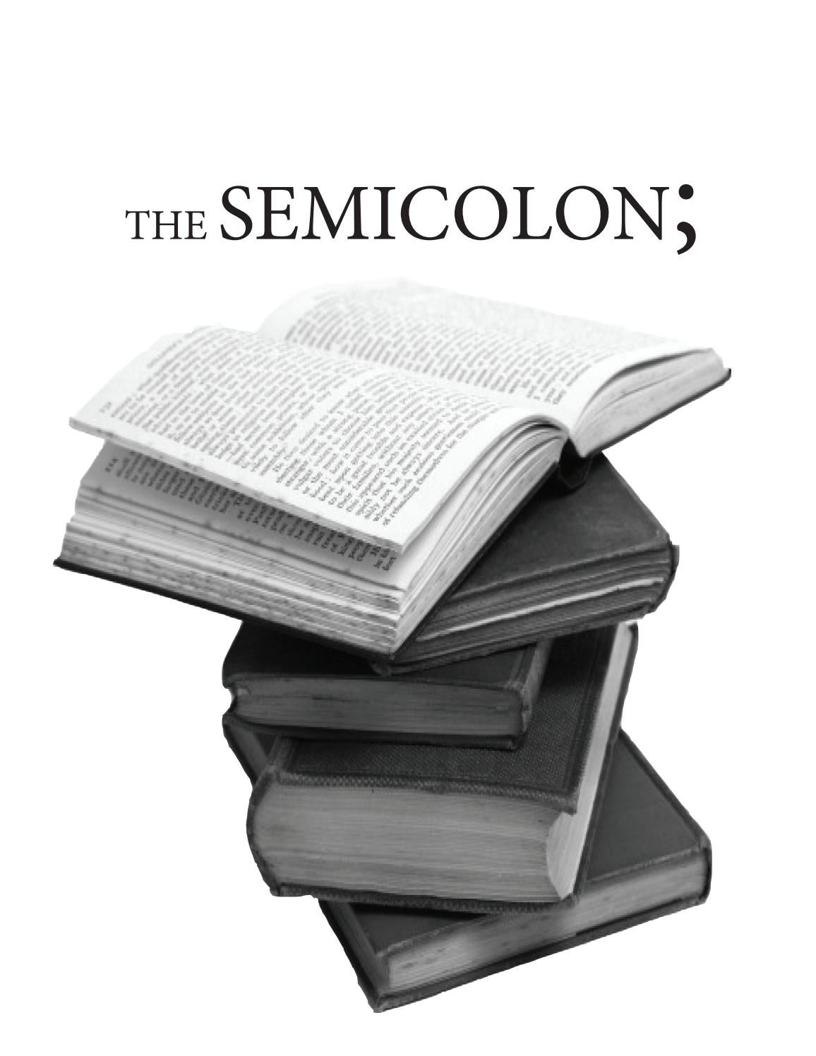 Semicolon Spring 2013 By Ahsc Publications Issuu
