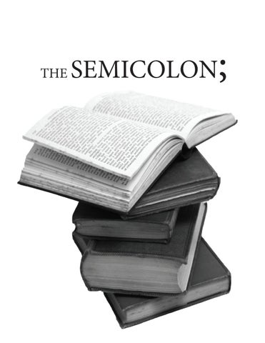 Semicolon Spring 2013 By Ahsc Publications Issuu