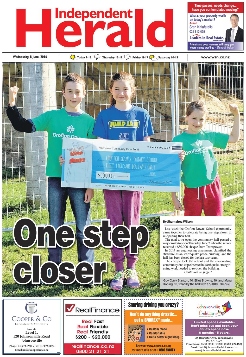 Independent Herald 08-06-16 by Local Newspapers - issuu