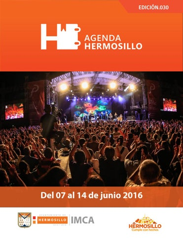 "Cover of ""Agenda hermosillo 07jun2016"""