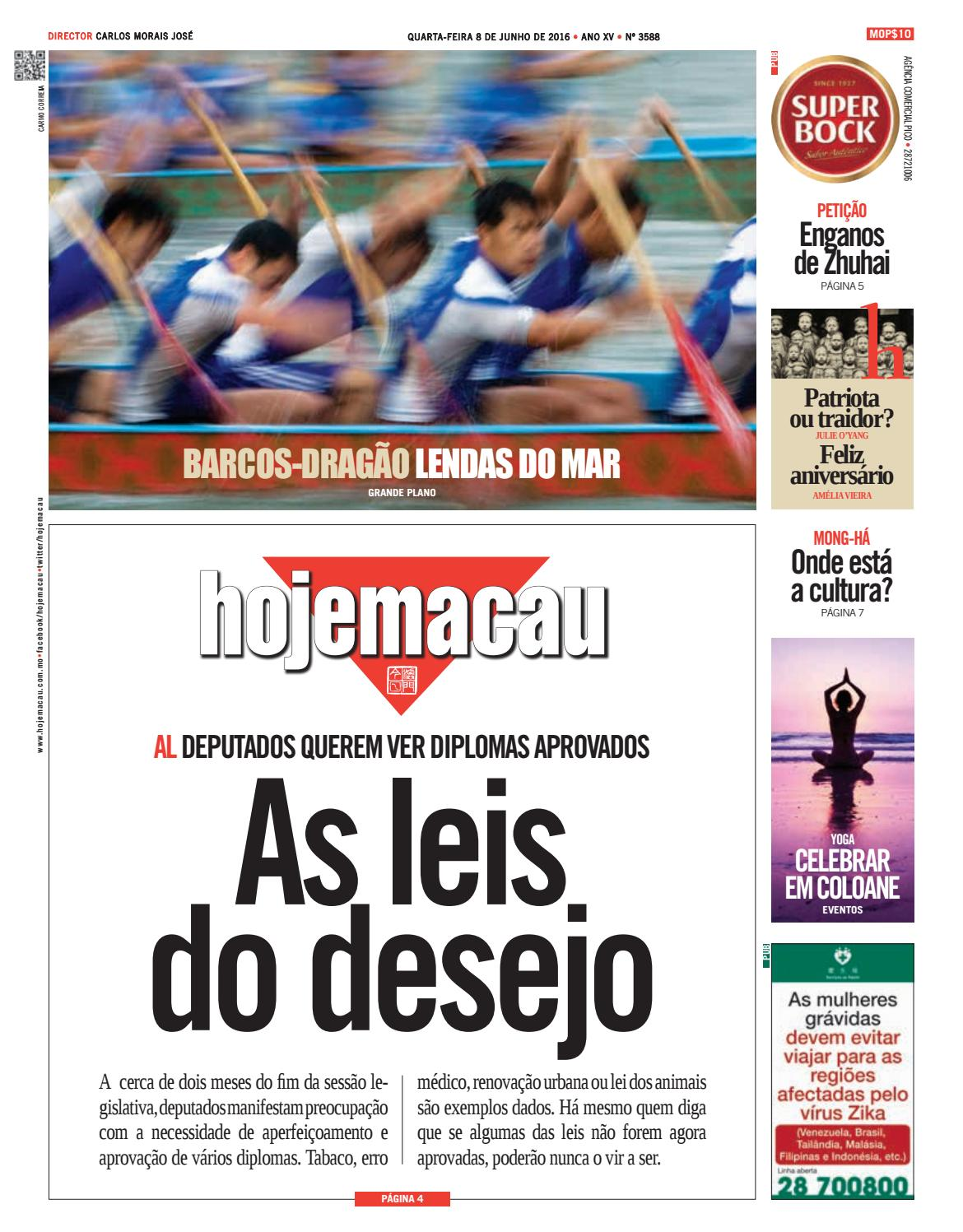 dc56f450c3 Hoje Macau 8 JUN 2016 #3588 by Jornal Hoje Macau - issuu
