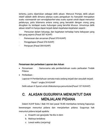 Materi Hukum Pidana Dan Pemidanaan By Arsip1989 Issuu