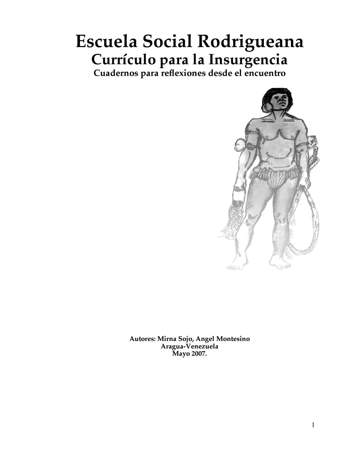 Curriculo para la insurgencia by SOJO MIRNA - issuu