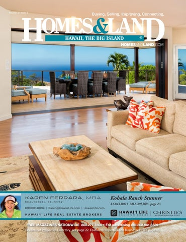 Vol. 27,Issue 5 Hawaii, The Big Island By Homes U0026 Land Hawaii, The ...