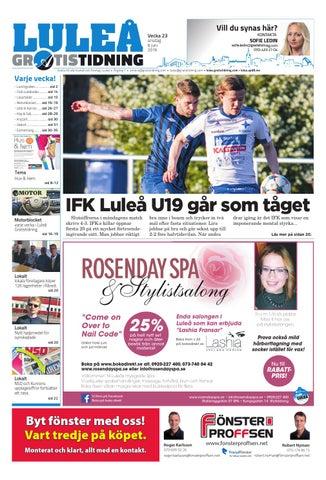 Luleå Gratistidning by Svenska Civildatalogerna AB - issuu 561c2ace06f47
