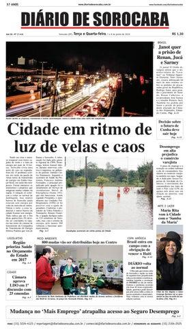 Edição de 08 de junho de 2016 by DIÁRIO DE SOROCABA - issuu 974f51eaebabe