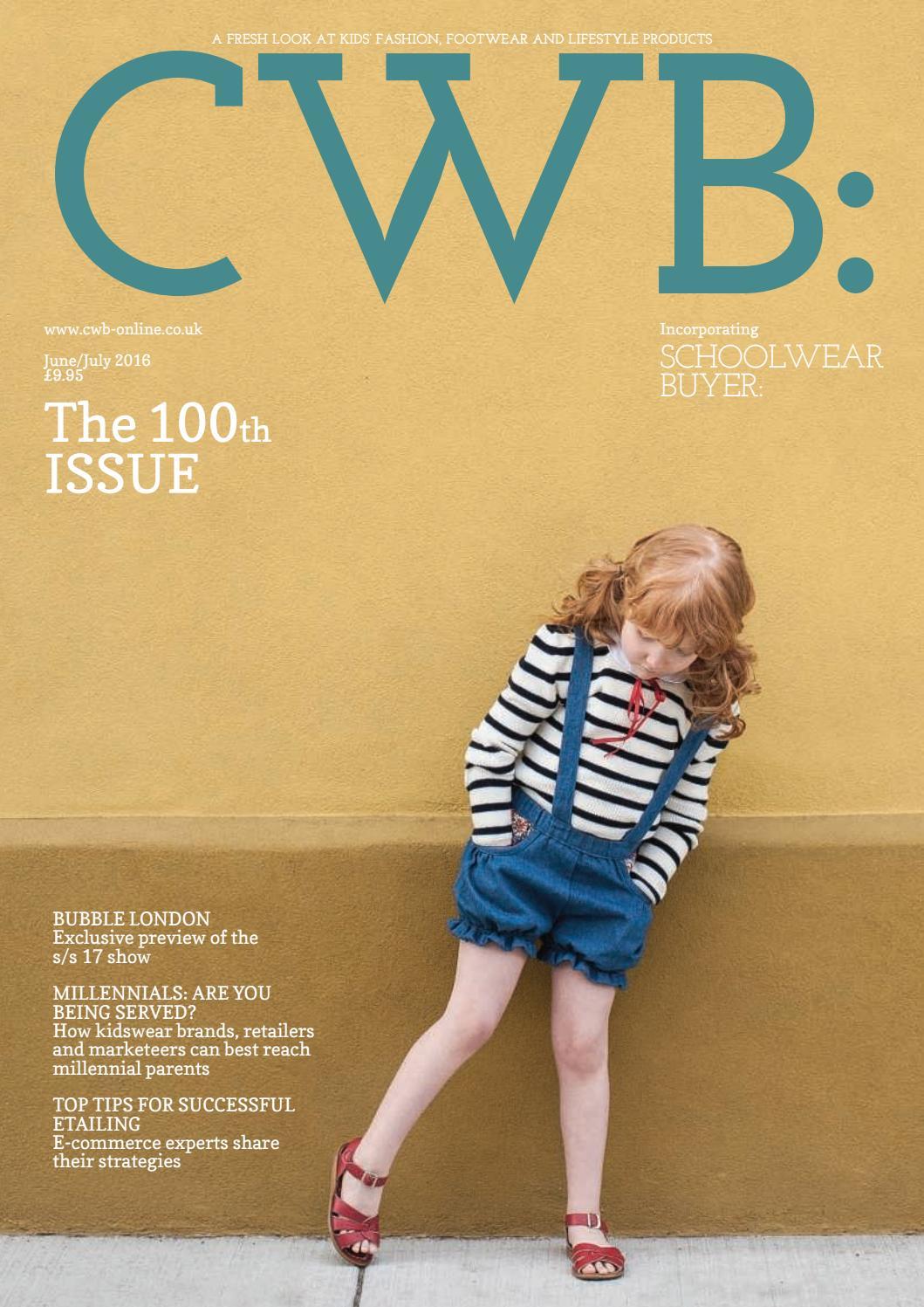 227de45c970 CWB MAGAZINE JUNE JULY ISSUE 100 by fashion buyers Ltd - issuu