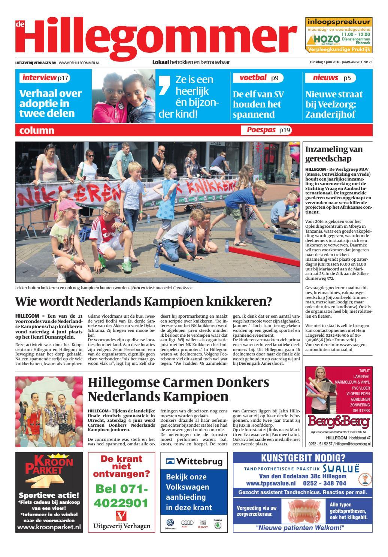 hg week 23 16 by uitgeverij verhagen issuu
