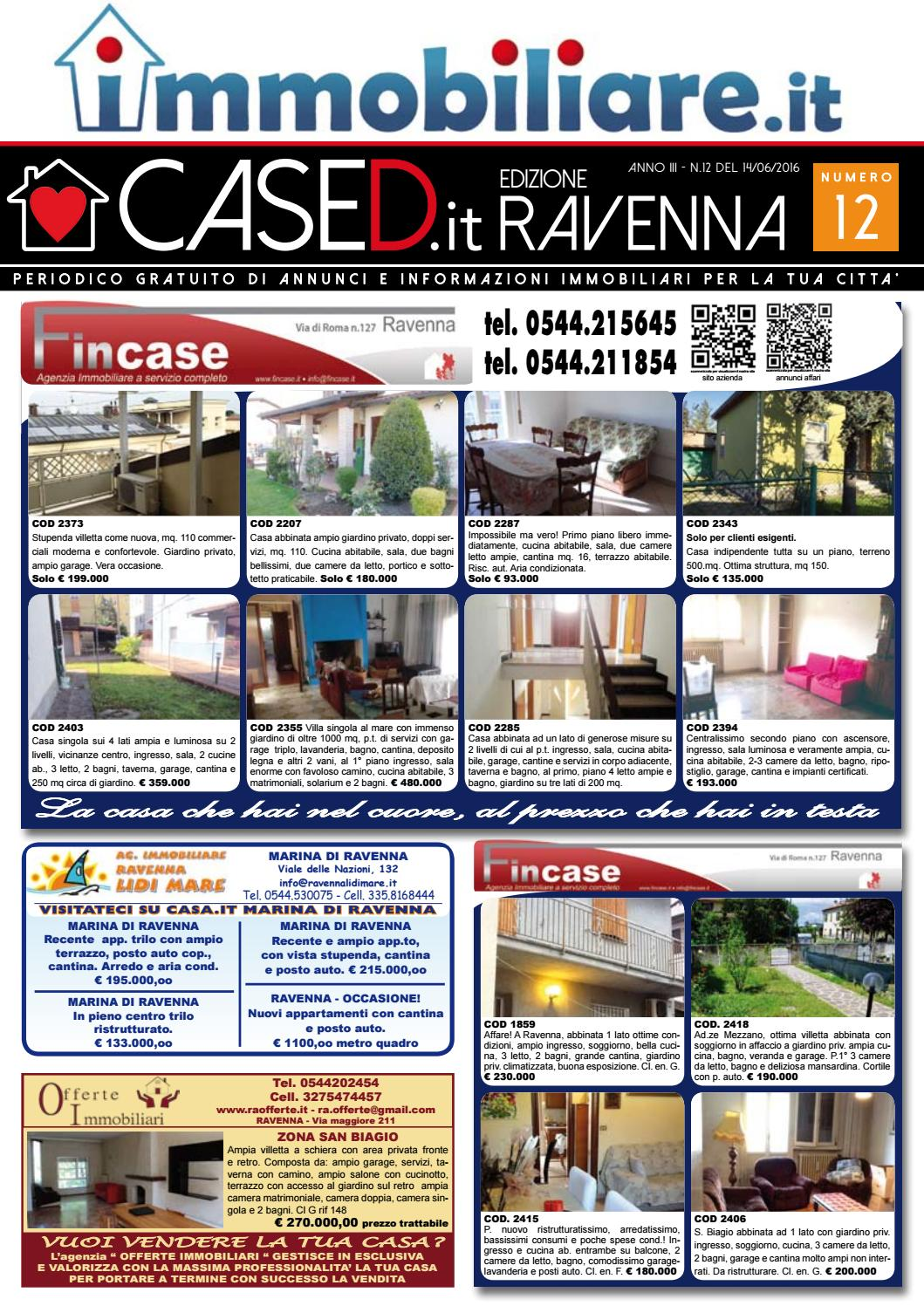 Camere Da Letto Ravenna.Cased Ravenna N 12 By Press One Srl Issuu