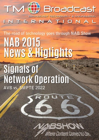 TM Broadcast International 21, May 2015 by Daro - issuu