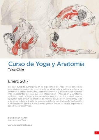 Curso de Yoga y Anatomia by Originarte - issuu