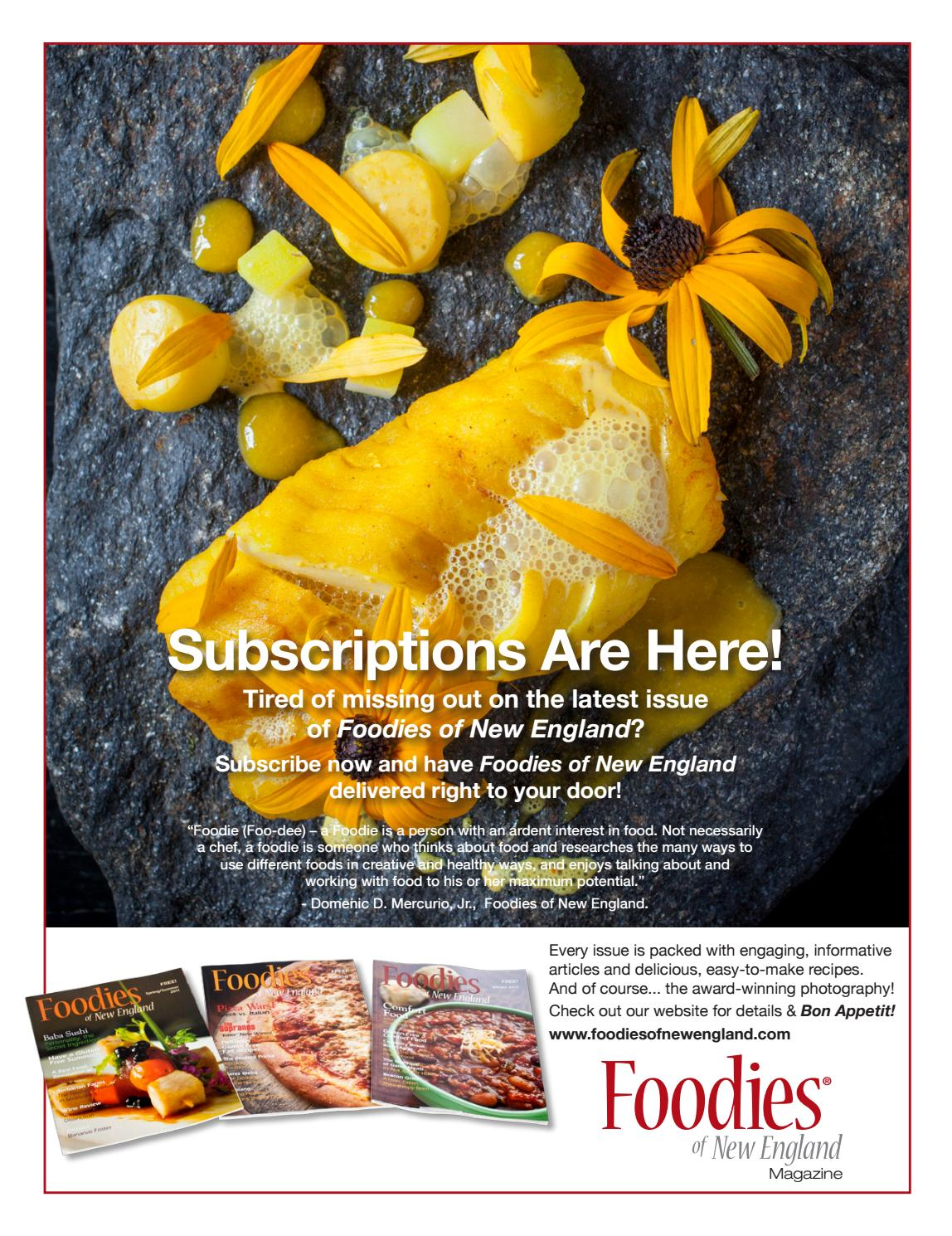 Foodies of New England Summer 2016 V16 by Foodies of New England - issuu