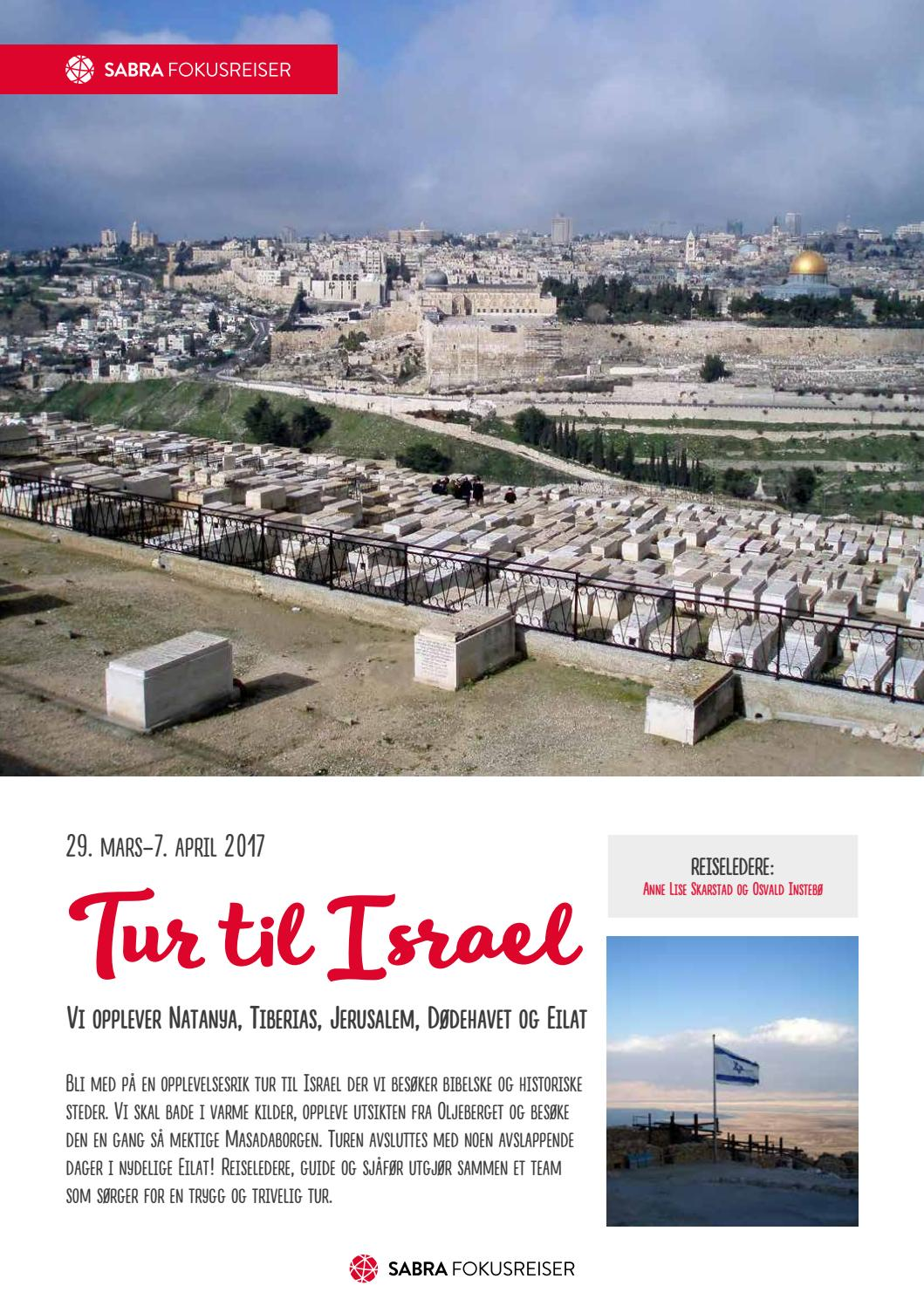 tur til israel