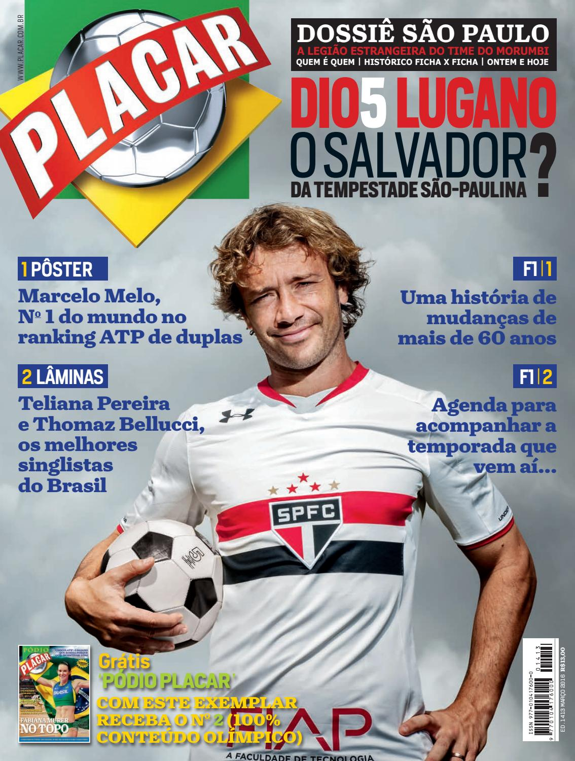 Revista Placar – Editora Caras by Revista Placar - issuu 09572c99705c6