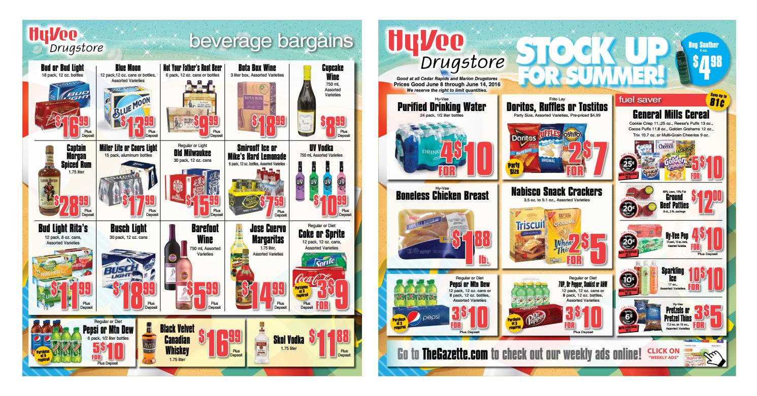 Drugstore Weekly Ad 060816 By Cedar Rapids And Marion Hy