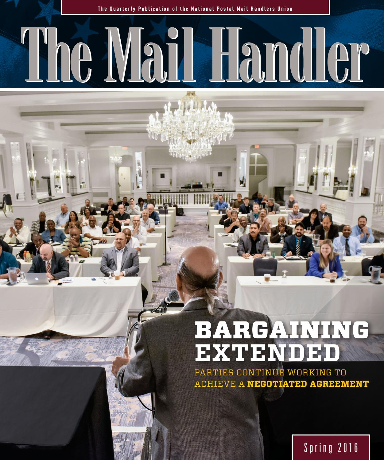 The Mail Handler magazine SPRING 2016 by National Postal ...