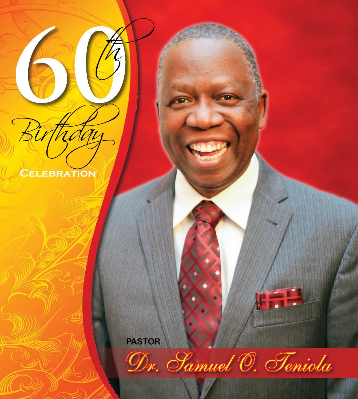 Pastor Teniola 70th Birthday Program by Dexpressionz issuu