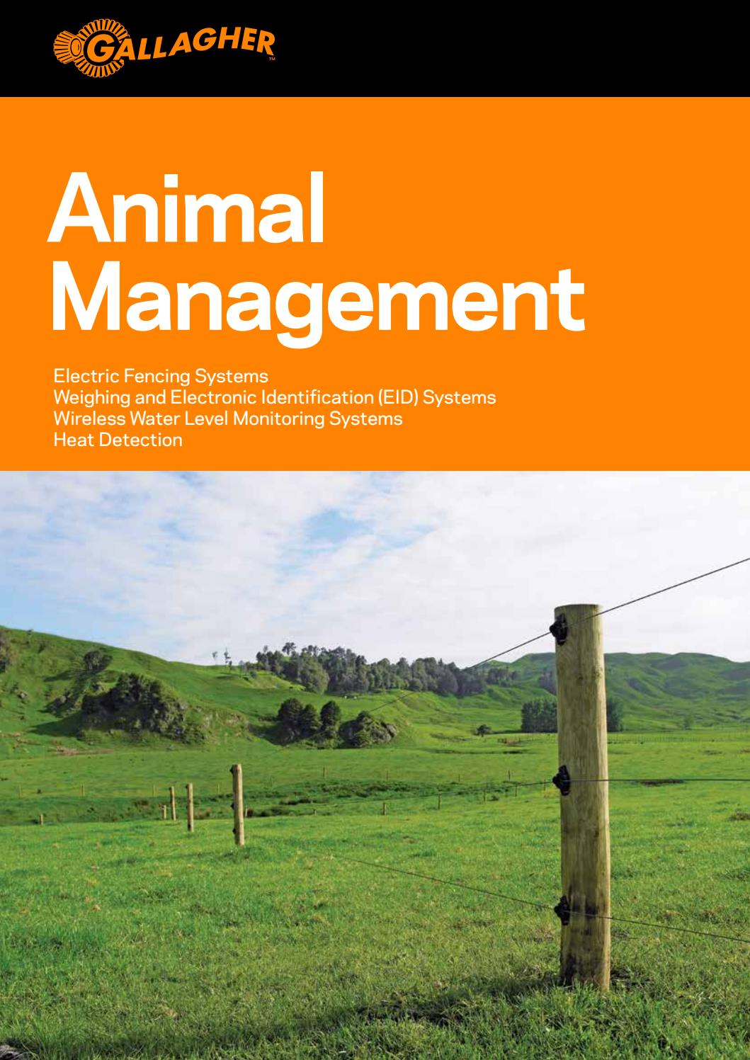 Animal Management New Zealand By Gallagher Group Ltd Issuu