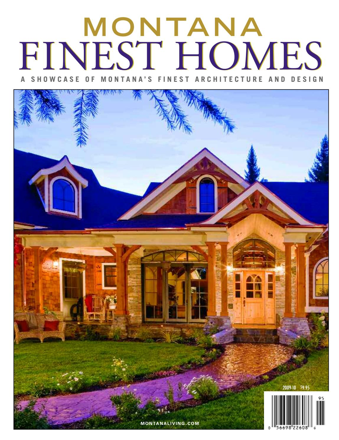 montana u0027s finest homes by montana living issuu