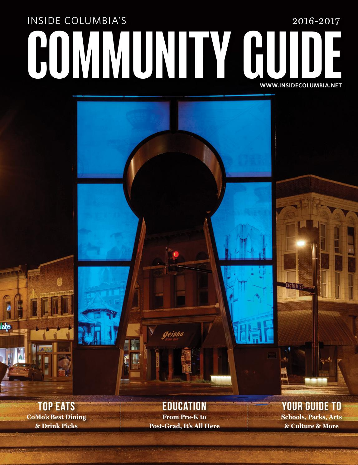 2016 Community Guide By Inside Columbia Magazine Issuu How To Tie A Double Windsor Knot Diagram Car Interior Design