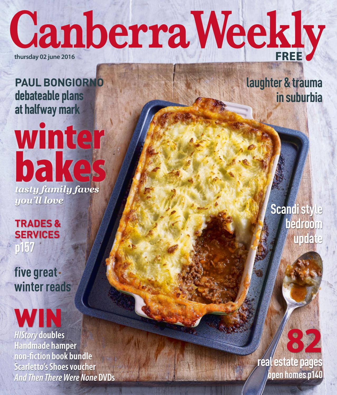 23 June 2016 By Canberra Weekly Magazine