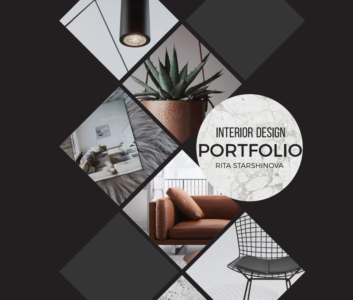 Interior Design Project Ideas: Rita Starshinova Portfolio By Rita Starshinova