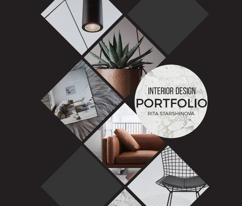 Rita starshinova portfolio by rita starshinova issuu - Interior design portfolio samples ...