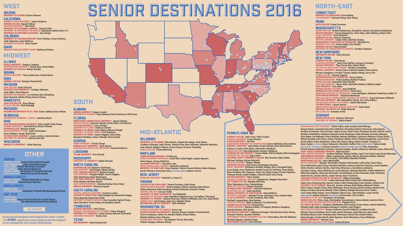 Map Of Arizona Destinations.Senior Destinations Map 2016 By The Spoke Issuu