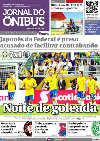 Jornal do Ônibus de Curitiba - Edição 09 06 2016 by Editora Correio ... 7fa497bd44589