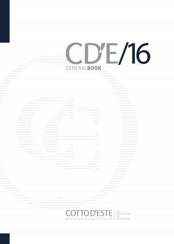 Cotto D Este General Catalogue 2016 By Udele Tile Issuu
