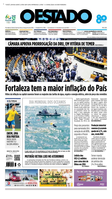 051867a4e32 09 06 2016 - Edição 22784 by Jornal O Estado (Ceará) - issuu