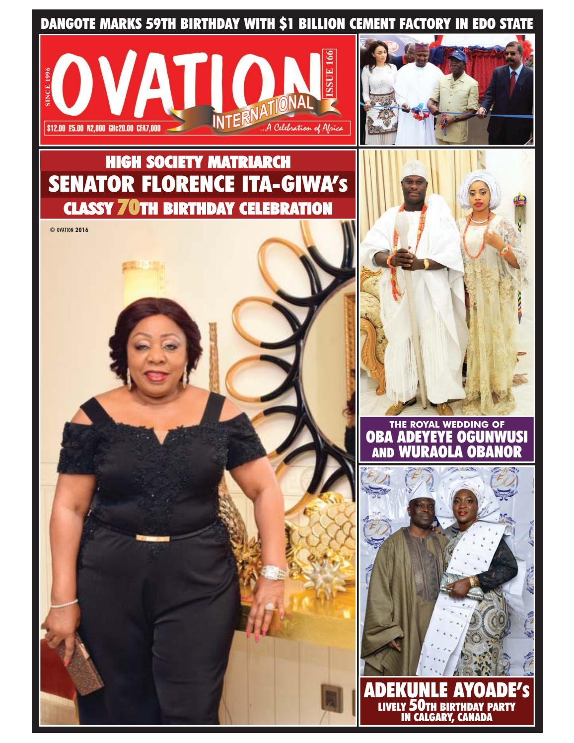 Ovation magazine issue 166 by t2eOvation - issuu