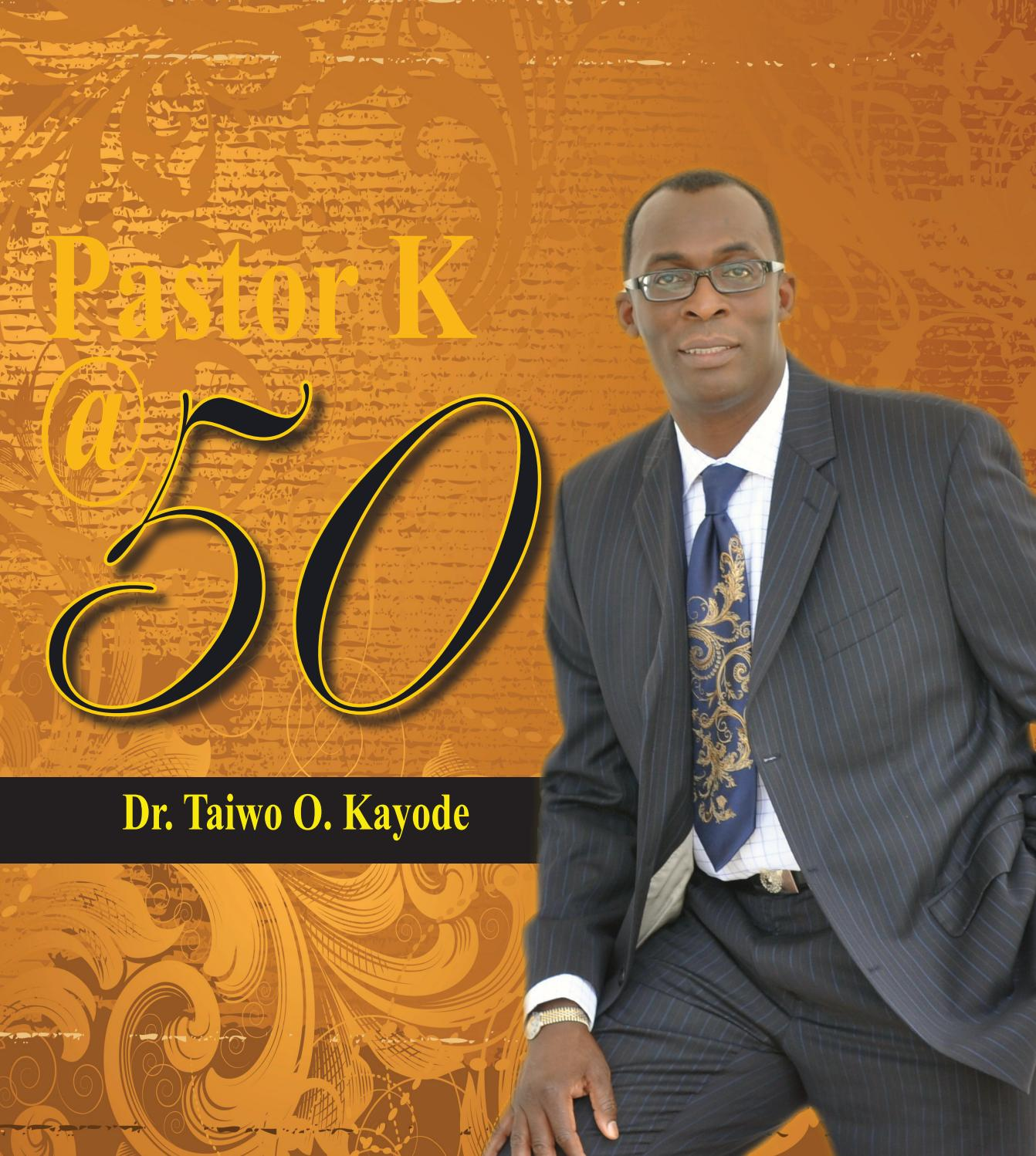 Pastor K 50th Birthday Program By Dexpressionz Issuu