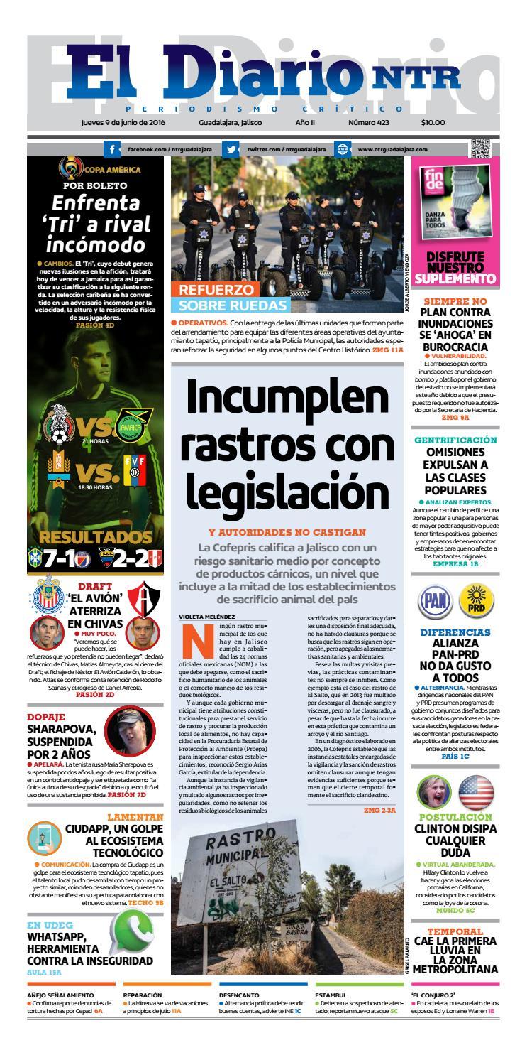b8fa54cfd646 El Diario NTR 423 by NTR Guadalajara - issuu