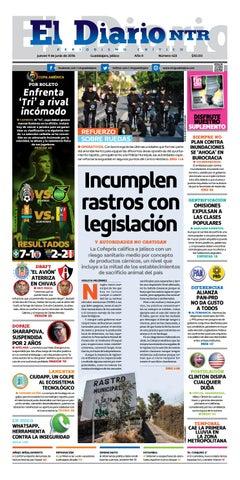 El Diario NTR 423 by NTR Guadalajara - issuu 3fece61f69e22