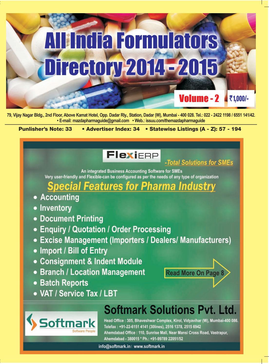 Famciclovir 125 mg.doc - All India Formulators Directory 2014 15 Volume 2 By The Mazada Pharma Guide Issuu