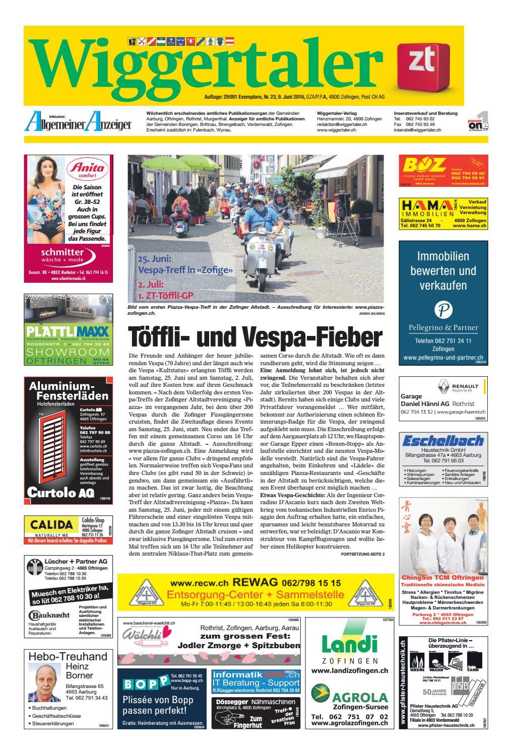Perfekt Wiggertaler 23/16 By ZT Medien AG   Issuu