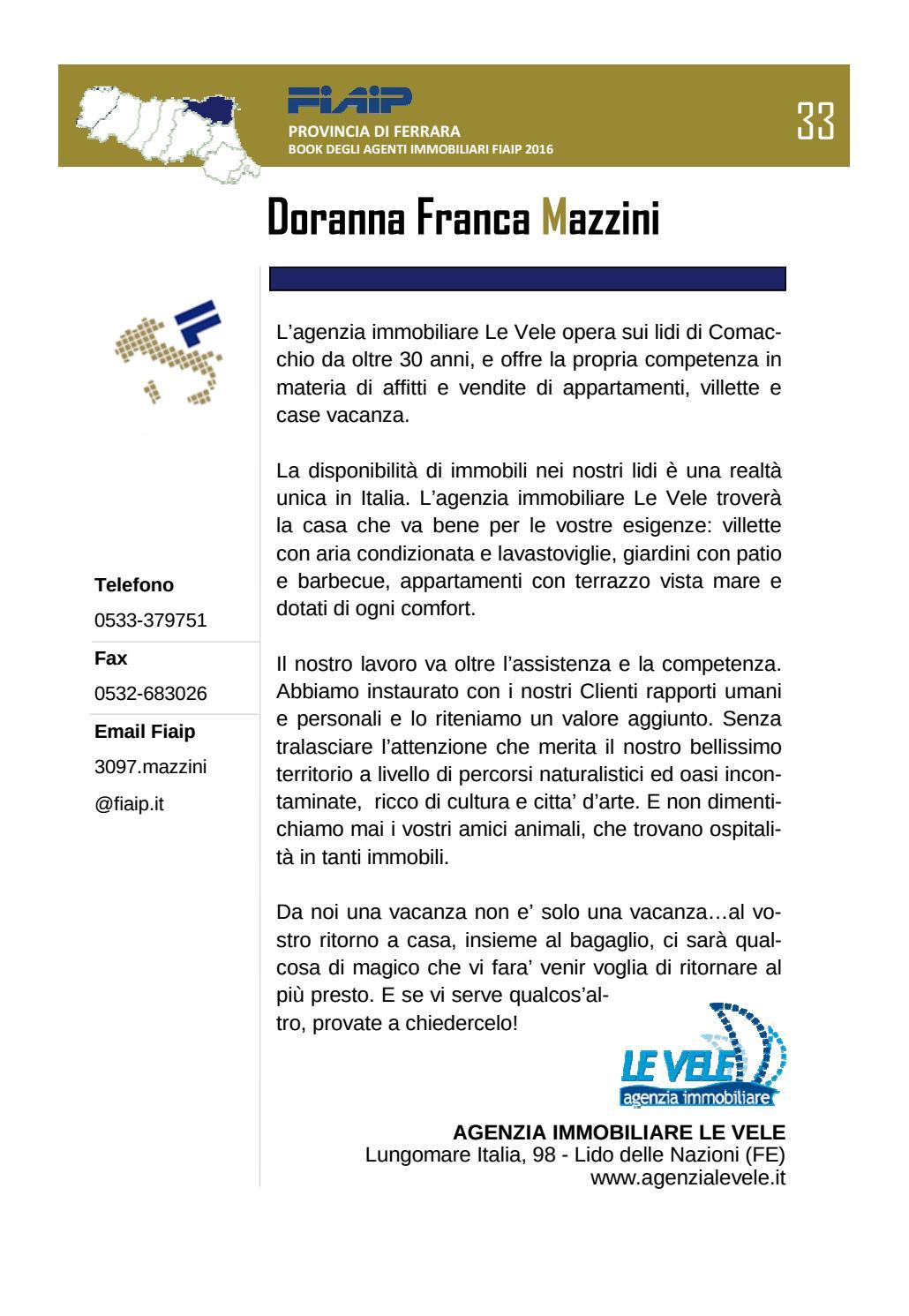 Book Fiaip Ferrara 2016 By Fiaip Emilia Romagna Issuu